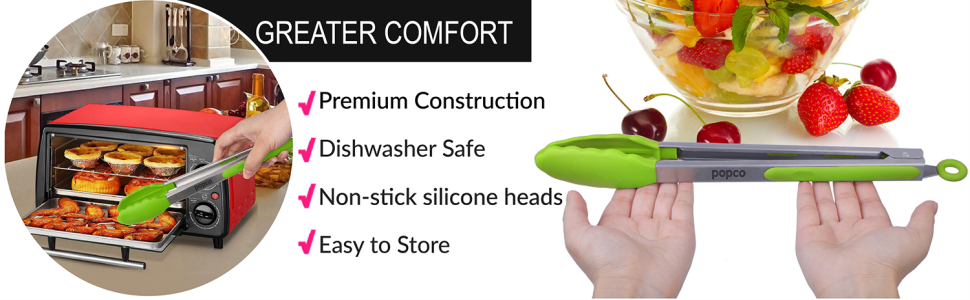 greater comfort