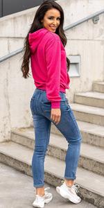 sudadera con capucha para mujer blusa jersey pulóver