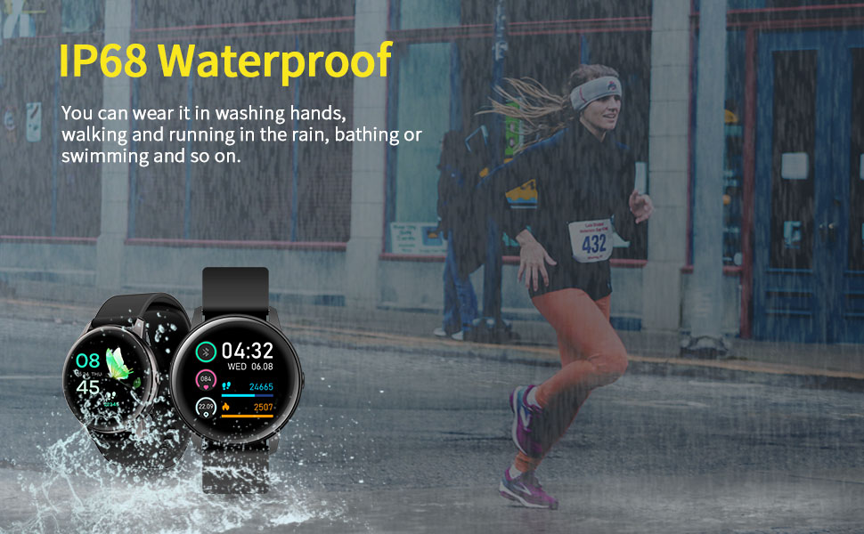 IP68 Waterproof