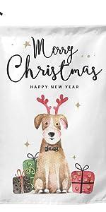 YISHOW Merry Christmas Reindeer Dog