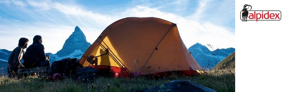 ALPIDEX Catre Ultraligero Cama de Camping soporta hasta 120 kg, Solo 1820 g incluida la Bolsa de Almacenamiento, Distancia del Suelo 16 cm, ...