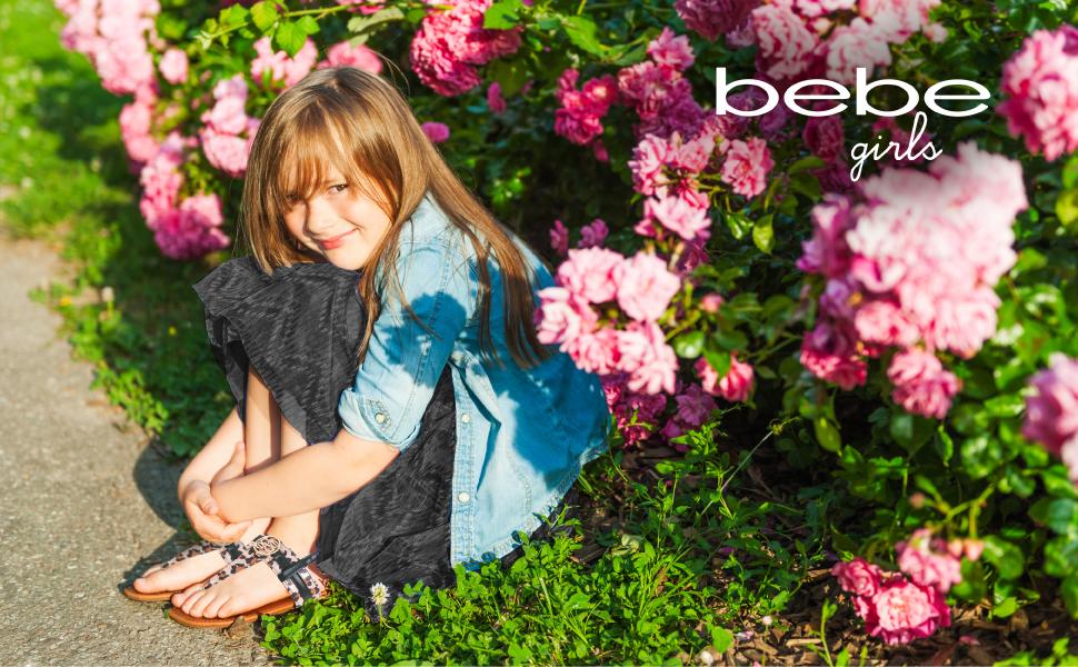bebe girls sandals main image