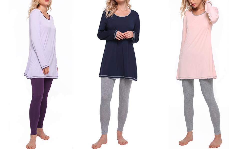 bamboo pajama set for women