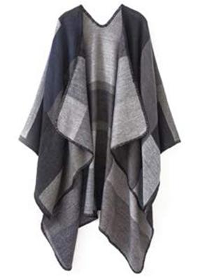 large blanket poncho shawl