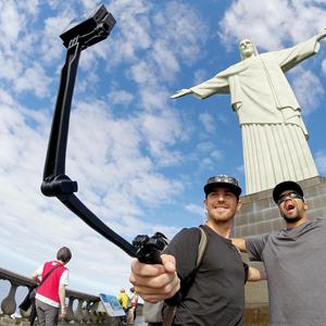 As Selfie Stick
