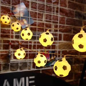 led soccer balls lamp