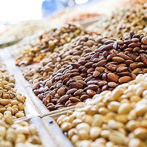 Nährwerte Nüsse und Kerne