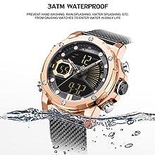 men sport 30M waterproof watch