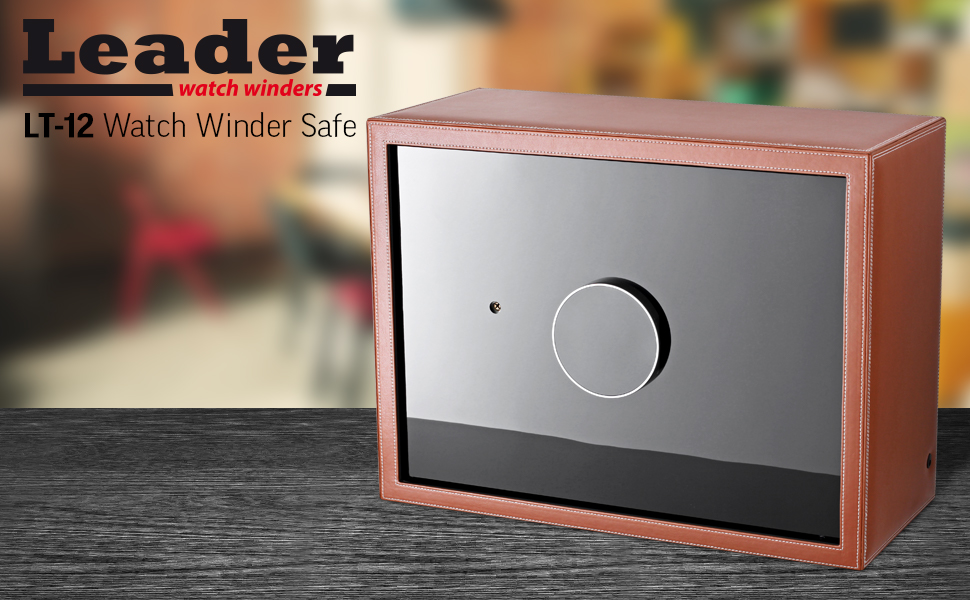 Security safe with 8 watch winder option