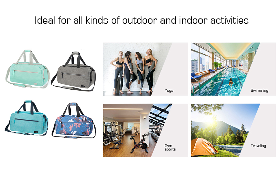 ideal duffle bag for many occasions