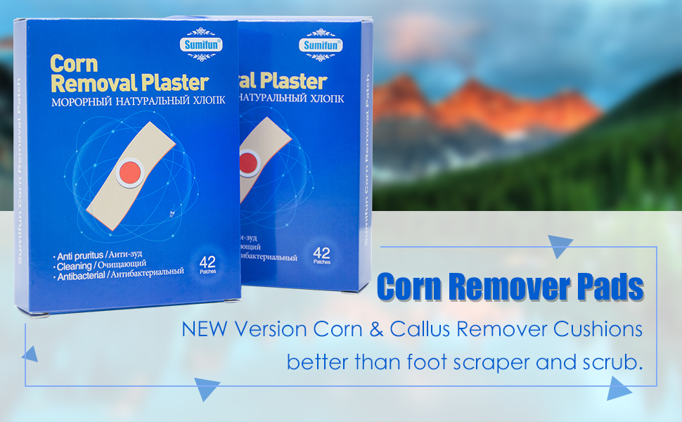 corn removers pads