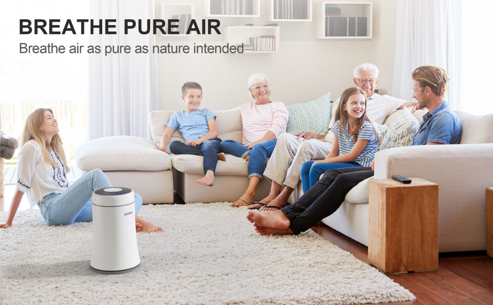 HEPA air purifiers for home