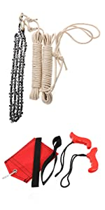 rope saw chainsaw kit
