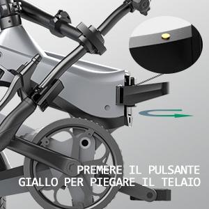 2d2979bc f2af 4a58 87a8 3cadef8cb431. HITWAY Bici elettrica Leggera da 250 W Pieghevole elettrica con pedalata assistita con Batteria da 7,5 Ah, 16 Pollici, per Adolescenti e Adulti