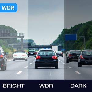 WDR interior dash cam