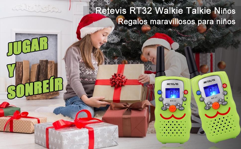 Retevis RT32 Walkie Talkie Niños
