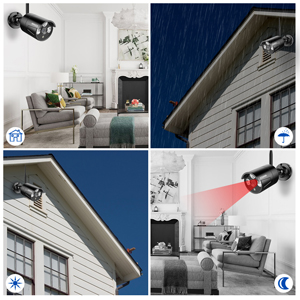 wireless home security surveillance camera system