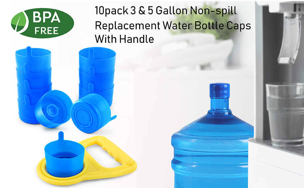 2020 Series Giant Water Bottles Transparent Solid 600ML Variance PP05 Dust Cap