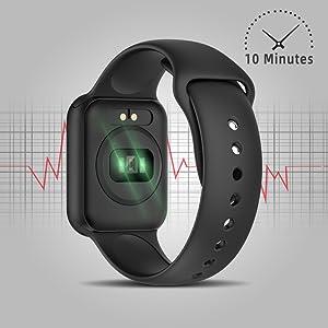 Smartwatch, KUNGIX Reloj Inteligente Impermeable IP68 Pulsera de Actividad Inteligente con Monitor de Sueño Pulsómetros Podómetro Contador de Caloría, ...