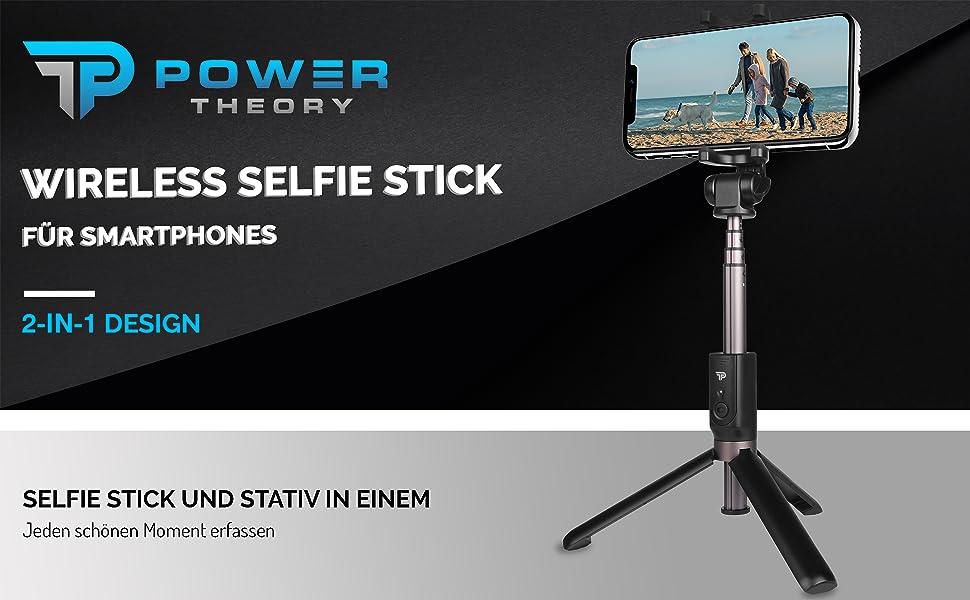 Selfie stick mit tripod