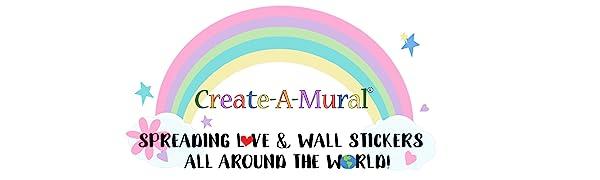 Kids Wall Decals Children Room Murals Girls Wall Stickers Boys Toddler Decor Art Peel Stick Fun Best