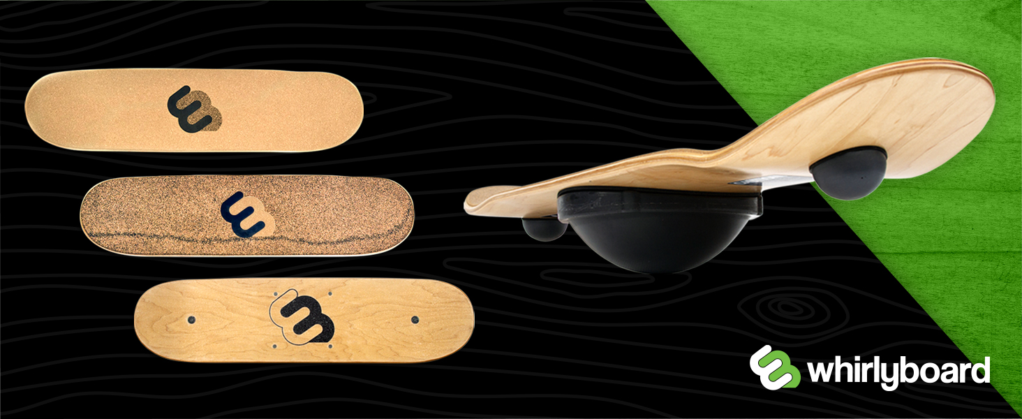 whirly board highlights and grip tape comparison