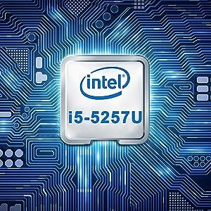 Intel Core i5-5257U Mini Windows 10 Desktop Computer 4K Small micro pc