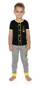 batman pajama for boys dark knight costume sleepwear baseball uniform