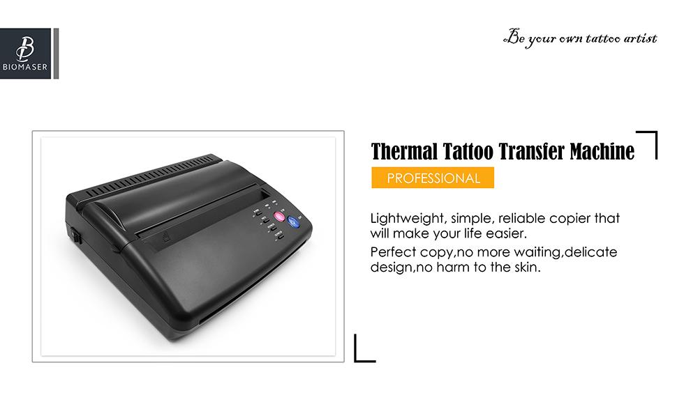 biomaser transfer tattoo machine