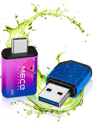 Chiavetta USB 128 Gb + Adattatore Tipo-C