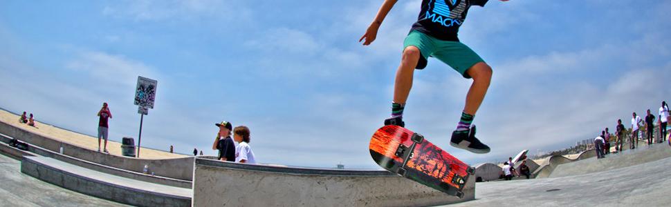 trick skateboard