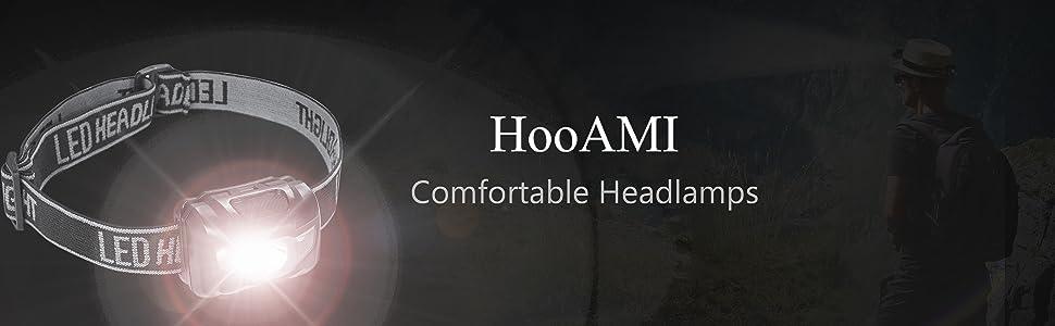 HooAMI Lampe Frontale Puissante 3 Piles AAA Inclus Torche Frontale LED 150 LM 4 Modes d/'Eclairage Frontale LED Puissante Enfants pour Lecture Course Marche Camping Cyclisme /Éclairage Ext/érieur