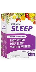 optimind alternascript supplement sleep restup rest refreshed tropical flavor relax dissolve