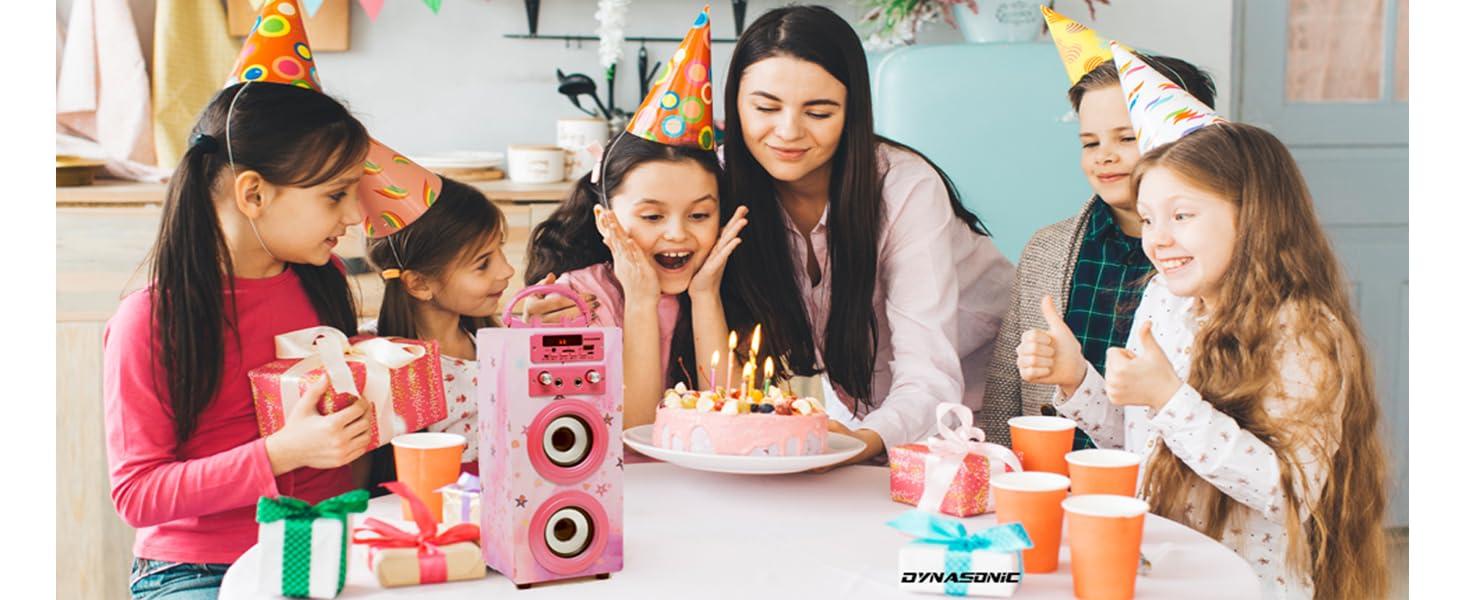 Eenceinte bluetooth, enceinte, micro, jouet fille, cadeau fille 10 ans, micro karaoké, cadeau
