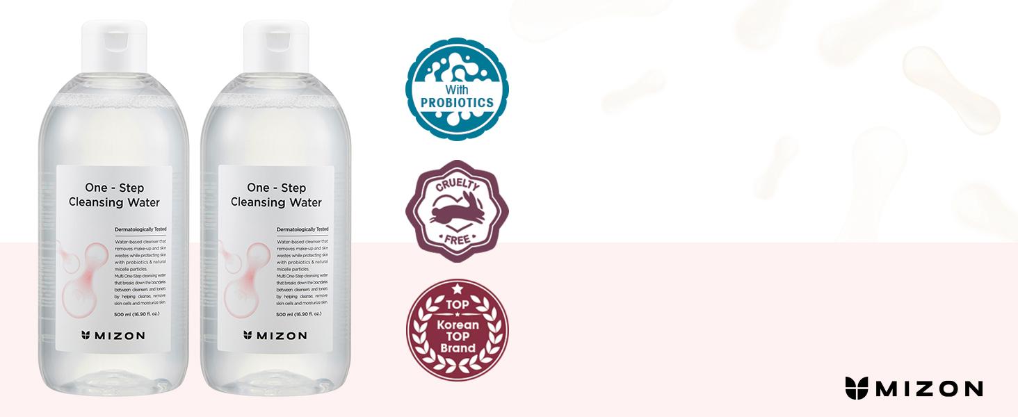 mizon mizon cleansing water mizon cleanser face cleanser micellar cleansing water mizon facial