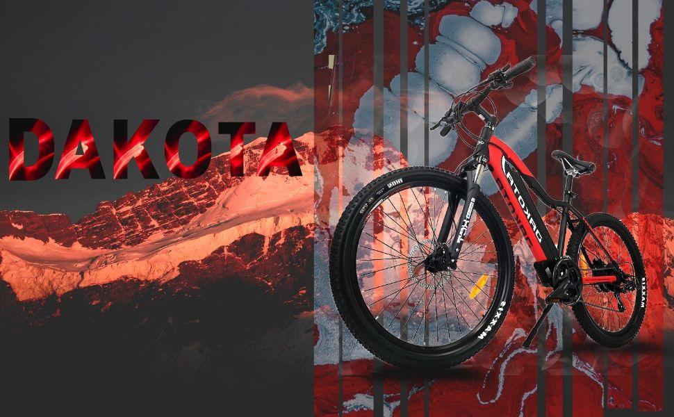 VTT , vélo électrique Dakota, ebike Urbanbiker