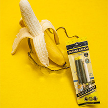 King Palm Banana Cream Flavored Palm Wraps