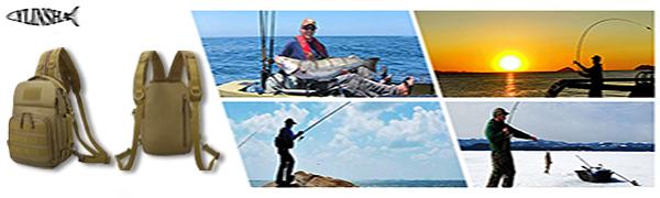 YLINSHA fishing bag with USU port