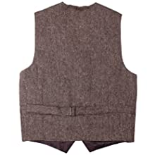 Born to Love Vest for Baby Toddler Kids Ring Bearer Pageboy Wedding Formal Herringbone Outfit Brown 12 to 24 Months