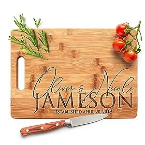 Amazing Items Personalized Cutting Board Custom Engraved Cutting Board