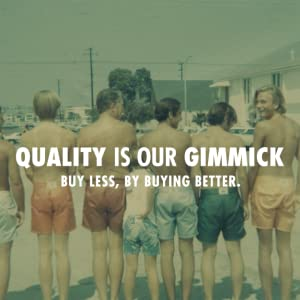 quality is our gimmick