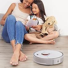 quiet robot vacuum cleaner