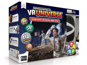 vr virtual reality science universe space kids