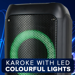 singmasters party box karaoke party speaker bluetooth party wireless