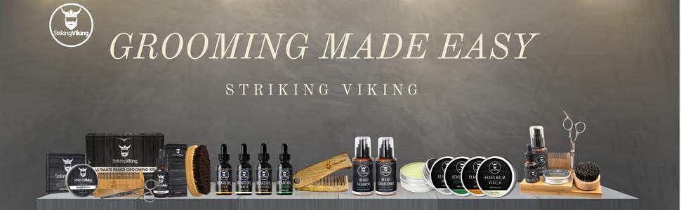 striking viking, viking beard kit, beard products, beard kit amazon