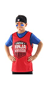Amazon.com: American Ninja Warrior Kids Black Grey Hooded ...