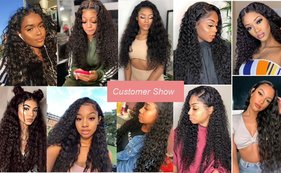 4x4 water wave wigs