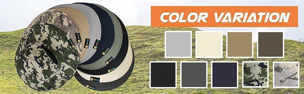 sun hat color variation