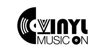 vinyl music on