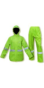 Reflective Rain Suit